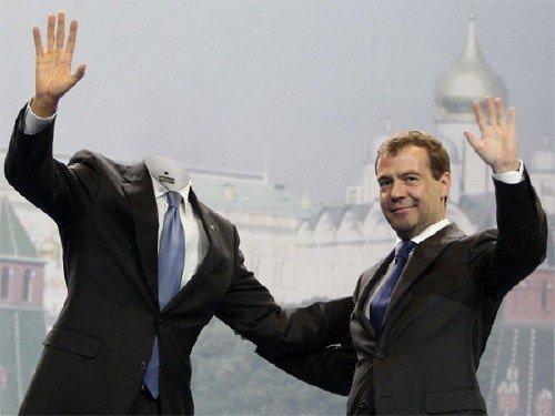 Мужской шаблон - Встреча с Медведевым