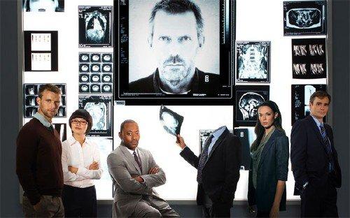 Шаблон мужской - Доктор Хаус и его команда