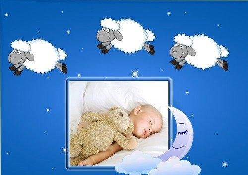 Наш сладкий сон - Рамка для фотошоп