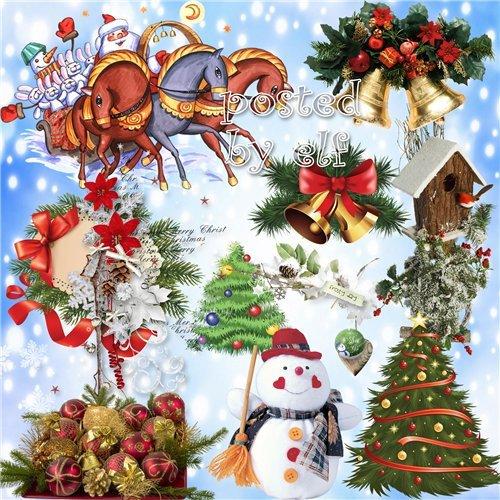 И новый год вот-вот настанет, исполнит вмиг мечту твою - клипарт в png