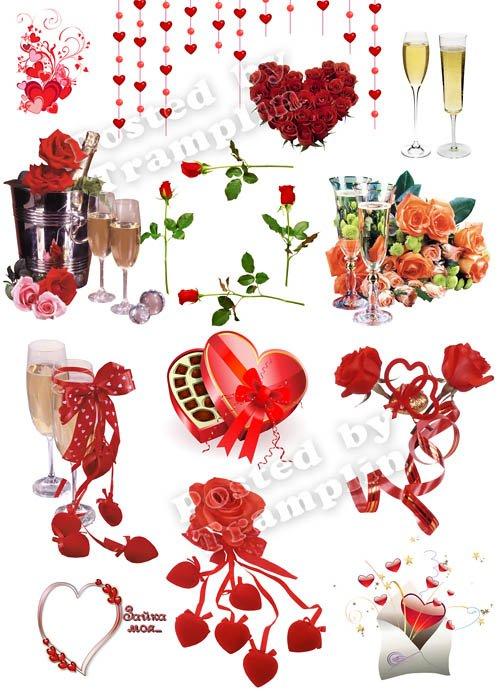 Клипарт День Святого Валентина – Все для Влюбленных