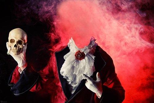 Кровавый граф дракула - мужской костюм для фотошопа