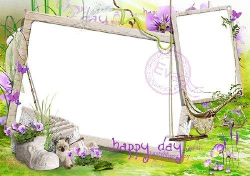 Детская рамочка для фото - Твой счастливый день