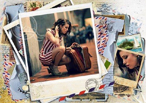 Рамка для фотографий - Мое долгое путешествие