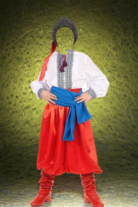 Национальный украинский  костюм для ФШ
