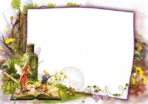 Детская фоторамочка - Красивая лесная сказка