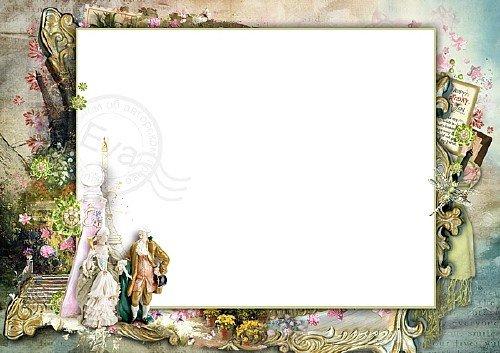Рамка для фотошоп - Французская сюита