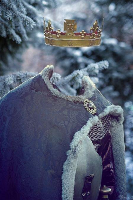Король шаблон для Photoshop