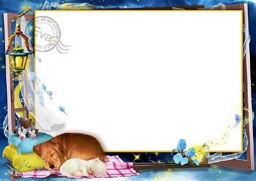 Детская рамочка для фотографий - Сладкий сон малыша