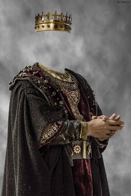 Монарх англии шаблон для фотошопа
