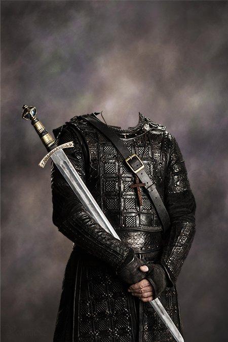Епископ Шерборна - костюм для фотошопа