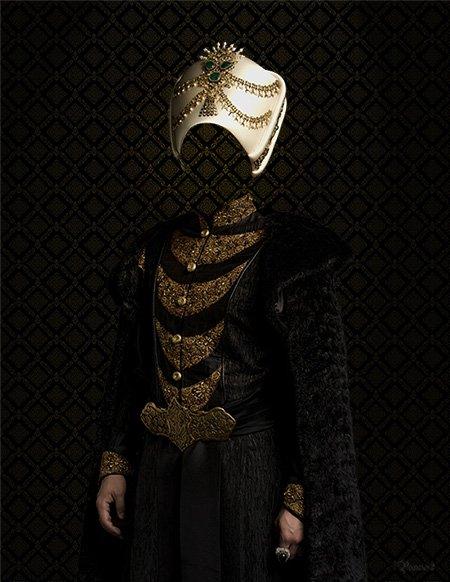 костюм султана шаблон для фотошопа